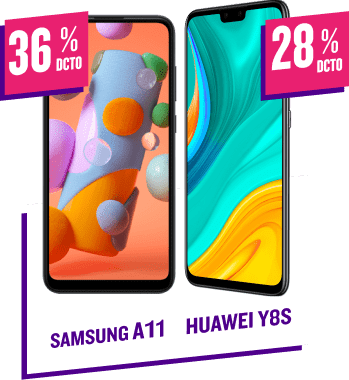 Samsung A11 - Huawei Y8S