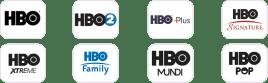 Canales de HBO